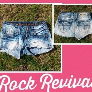 Rock Revival Shorts Size 26